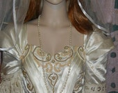 stunning 1 Tier Shoulder,Wedding Veil white Shoulder Length Ready to ship