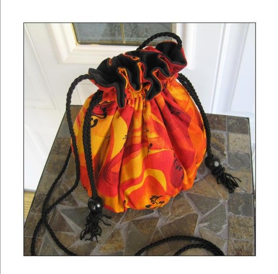 Crossbody Pouch Purse - Flaming Hot & Ready to Ship