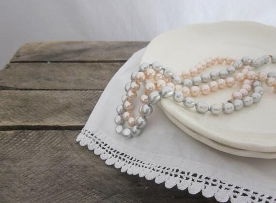 Vintage White Ironstone Plates Shabby Cottage Beach French Decor Rustic Farmhouse Wedding