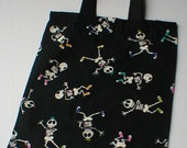 Halloween Trick or Treat Skeleton Bag