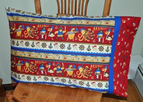 Pirate Kids Standard Cotton Pillowcase