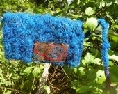 Peacock Blue - Sari Silk Knit Hat