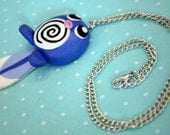 Playful Poliwag Pokemon Necklace