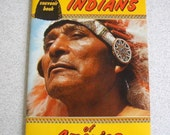 Souvenir Book, Indians of America, Full Color Photo Book, Native Americans, 1960's