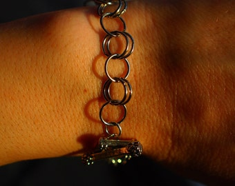 SALE Chainmaille Bracelet - Holiday Gifts- Christmas Gift- Stocking Stuffer - Hanukkah Gifts-Birthday Gifts