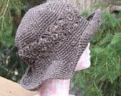 Gardening Hat Floppy Brim Crochet