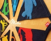 Bunting Banner, Rainbow, SEA CREATURES Made to Order