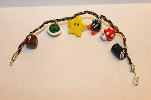 Mario charm bracelet