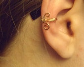 Copper and Gold Earcuff