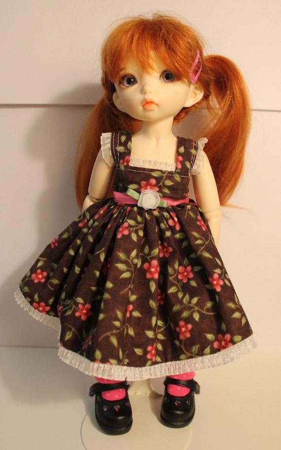 LTF Yo-SD Brown and Pink Dress, Free Shipping