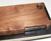 Black Walnut Wooden iPhone 4/4S case