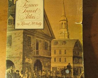 Vintage Texaco Travel Atlas - Bicentennial Edition