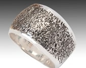 Sterling Silver Ring, Mens and Women's