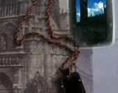 Big Ben - taken in 1960 - 35mm Slide Necklace - One of a Kind