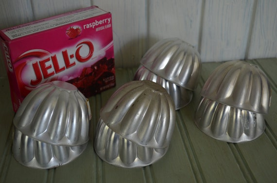 Aluminum Jello mold set