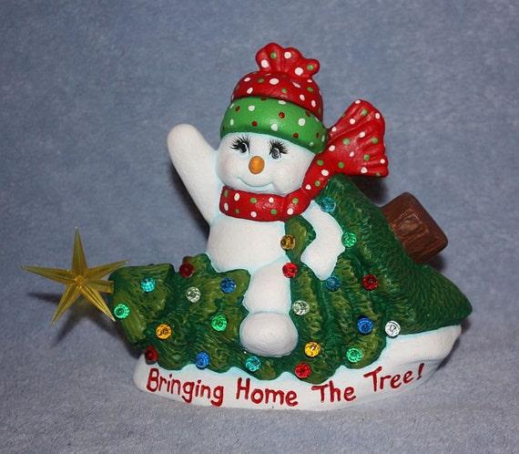 Personalized Ceramic Snowman Best Ceramic Design Ideas And Home