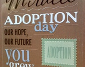 Adoption stickers for your child's scrapbook or lifebook, Nov is national adoption month
