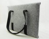 """30% OFF granite grey felt MACBOOK 15"""" BAG"""