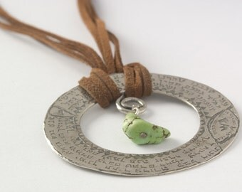 The Wheel Of Prayers Necklace