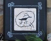 Deer  Petroglyph on Stone