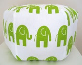 "18"" Ottoman Pouf Floor Pillow Elephant"