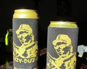 EAZY-DUZ-IT Quart & Oil Can Koozie with Handle for Eazy Handling