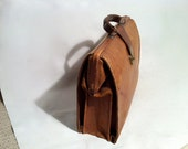Antique Old Time Leather Doc Bag
