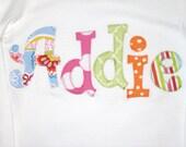 GIRLS personalized NAME shirt