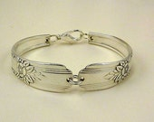 Spoon Bracelet, Silver - Flatware Jewelry, Vintage, Antique, Mt. Vernon AKA LaRose