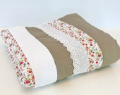 Blanket 80x100cm - Pink Garden