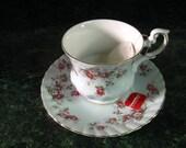 Vintage Teacup: Rosina Teacup and Saucer