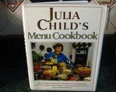 Vintage Julia Child's Menu Cookbook - Julia Child - Menu Cookbook - Vintage Cookbook - Recipe Book- Julia Child Recipes - 1991