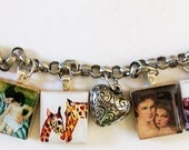 A mother's love charm bracelet
