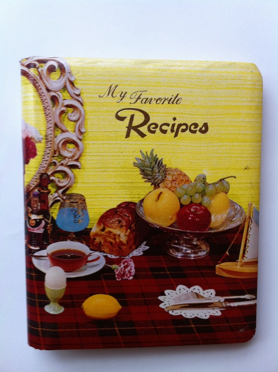 Vintage 1960s Book of My Favorite Recipes