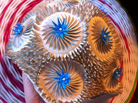 1960s Spiky Flower Swim Cap by Fashy