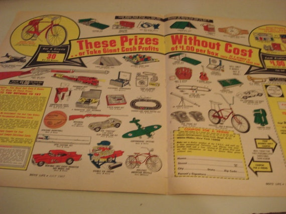 Toys For Boys Advertisement : Items similar to vintage ad from s for boys toys
