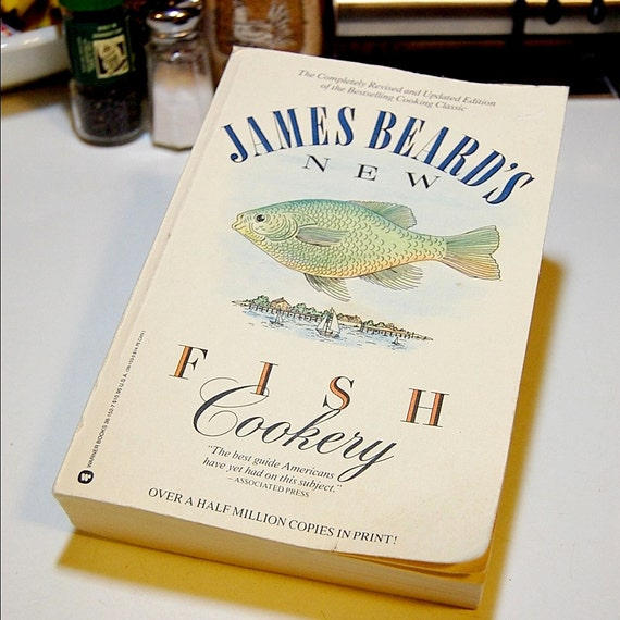 1987 New Fish Cookery by James Beard