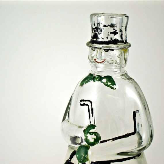 Vintage Carrie Nation figural vinegar bottle