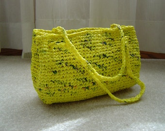Yellow Recycled Purse