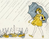 Salt Girl - Mini Archival Print