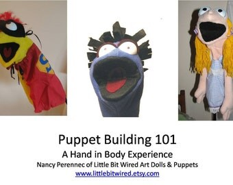 Puppet Pattern PDF ONLY Make your own puppet