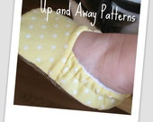 baby shoe pattern INSTANT DOWNLOAD, Abby and Aaron pattern, Up and Away Patterns on Etsy, baby shoe pattern