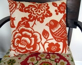 Pair of Thomas Paul Aviary Pillow Covers