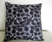 One Black and White Pillow