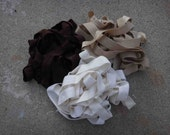 Fold over elastic  3  colors 2 yards of each color