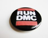 Vintage 80s Run DMC Pin