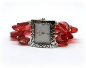 Red Sparkles Watch