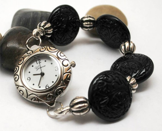 Interchangeable Watch and Band - Cool Black