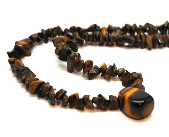 Men's Tiger Eye Necklace