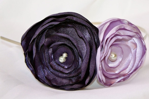 Shop SALE - Lavender Rose Headband